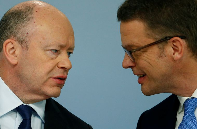 New Deutsche Bank CEO Sewing faces familiar strategy questions