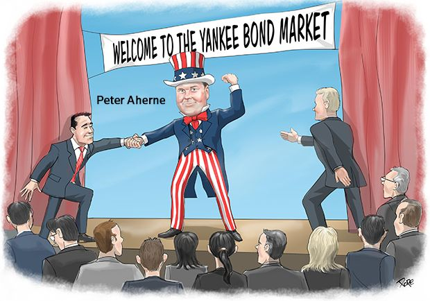 North America Financial Bond House: Citigroup cartoon