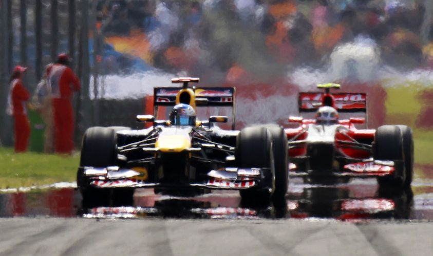 Turkish F1 Grand Prix at the Istanbul Park circuit in Istanbul