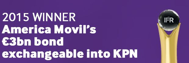 EMEA Structured Equity Issue: America Movil's €3bn bond exchangeable into KPN